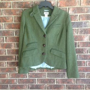 L.L. Bean Wool Jacket Size 10